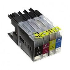 Set 4 cartuse GraphiteK compatibile Brother LC1240 , LC1280, LC1220 Black Cyan Magenta Yellow compatibile