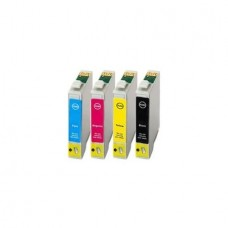 Set 4 Cartuse Compatibile Epson T1291/2/3/4