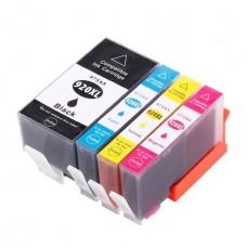Set 4 Cartuse Compatibile HP 920XLBK/C/M/Y,HP Officejet 7500A , Officejet 6000