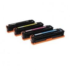 CF380X Set 4 CartuseToner Compatibile BKXL/C/M/Y,HP Color LaserJet Pro MFP M476 dn,Color LaserJet Pro MFP M476 dw,Color LaserJet Pro MFP M476 nw-HP CF380X 4.4K/CF381A 2.7K/CF382A 2.7K/CF383A 2.7K