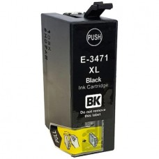 T3471 Cartus GraphiteK XL premium compatibil Epson T3471XL negru WorkForce Pro WF-3725DWF/3720DWF