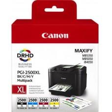 Set 4 cartuse cerneala ORIGINAL Canon PGI2500 XL