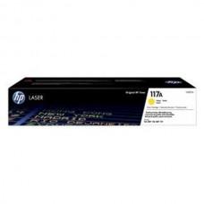 117A Cartus Toner Original HP W2072A (Nr. 117A), 700 pagini, Yellow, pentru HP Color Laser 150a, HP Color Laser 150nw, HP Color Laser MFP 178nw, HP Color Laser MFP 179fnw