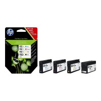 Set 4 cartus cerneala ORIGINAL HP extralarge 950XL 951C-XL 951M-XL 951Y-XL